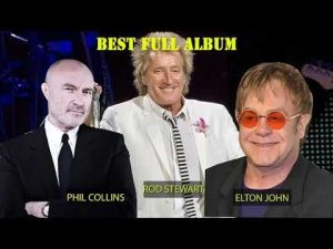 LIVES INTERNACIONAIS: UM SHOW DO CARAMBA! PHIL COLLINS, ELTON JOHN, ROD STEWART GREATEST HITS PLAYLIST 2018